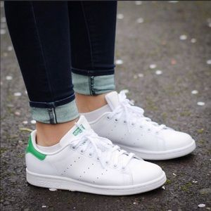 Adidas Stan Smith Sneakers White Green